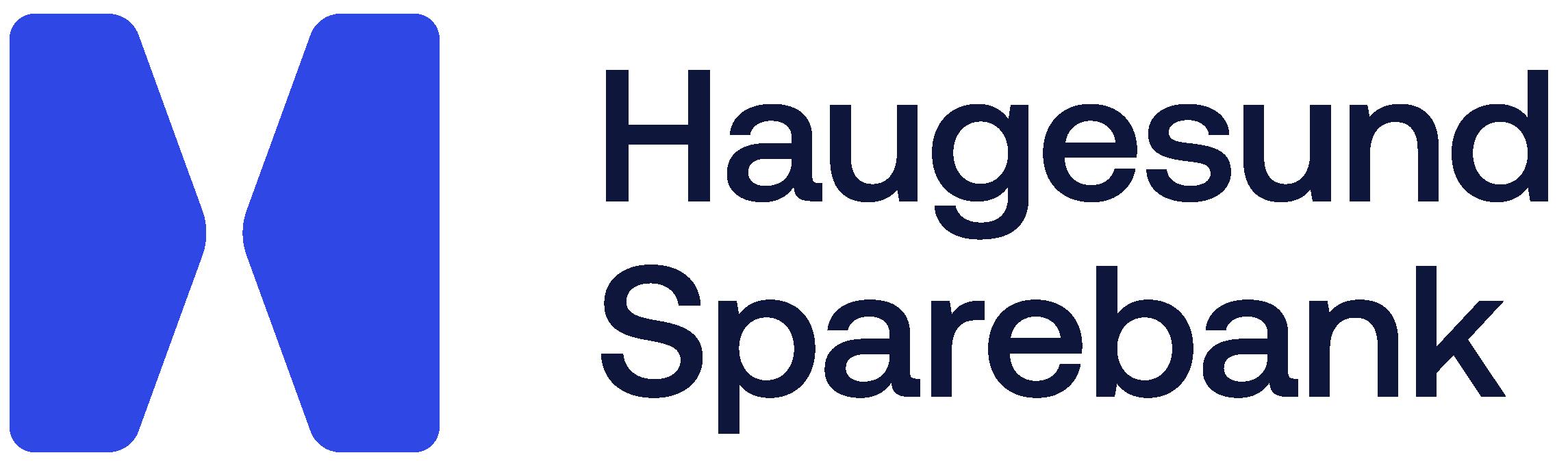 Haugesund Sparebank's logo.